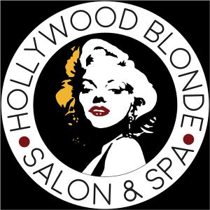 hollywood blonde st charles mo salon logo